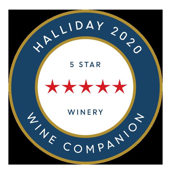5 Stars again in 2020 Halliday Wine Companion